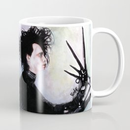 Edward Scissorhands: The story of an uncommonly gentle man. Coffee Mug