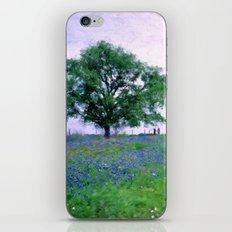 Bluebonnet Tree iPhone & iPod Skin