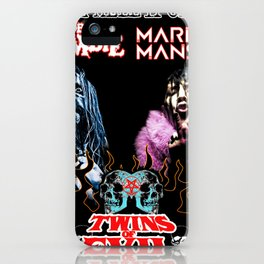 TWINS OF EVIL FROM THE HELL IT CAME TOUR DATES 2019 KURA KURA iPhone Case