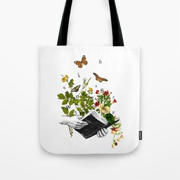 Look in a Book Tote Bag