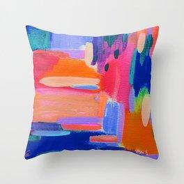 EttaVee Brush Stroke no.104 Throw Pillow