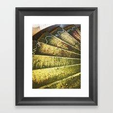 The Artist's Staircase Framed Art Print