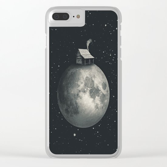A Peaceful Place Clear iPhone Case