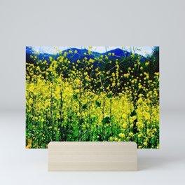 Malibu Creek State Park in Full Bloom Mini Art Print