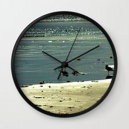 Morning Glitter Wall Clock