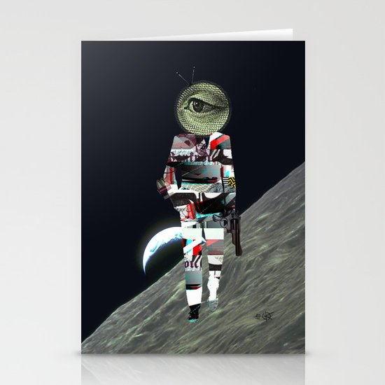 20 Space Stationery Cards