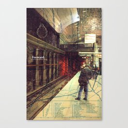 Forward Canvas Print