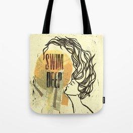 Swim Deep Tote Bag