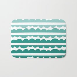 Mordidas Gradient Green Bath Mat