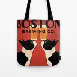 Boston Terrier Brewing Company Tote Bag