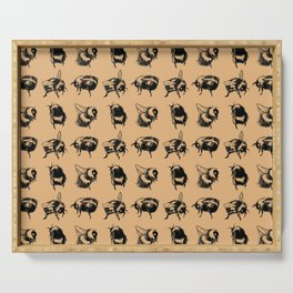 Bumblebees Serving Tray