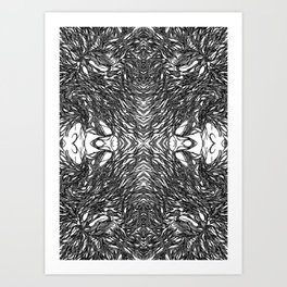 Subconscious Thoughts  Art Print