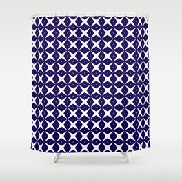 Blue Crush No. 46 Shower Curtain