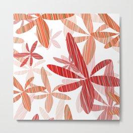 Flowers design Metal Print