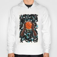 basketball Hoodies featuring  BasketBall  by Marven RELOADED