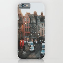 Golden Hour in Edinburgh iPhone Case