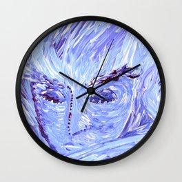 Frozen Man Wall Clock
