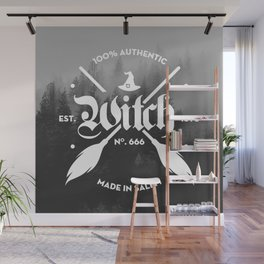 100% Authentic Witch Wall Mural