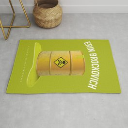 Erin Brockovich - Alternative Movie Poster Rug