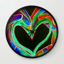 Universal Sign for LOVE Wall Clock