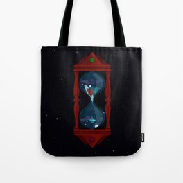 Cosmic Hourglass Tote Bag