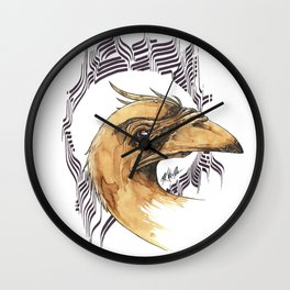SAINT BIRD OF PARADISE  Wall Clock