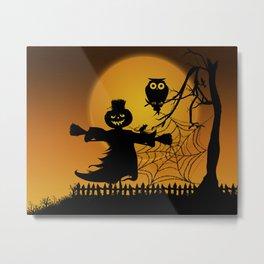 Spooky Halloween 5 Metal Print