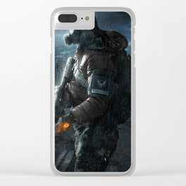 The Division Clear iPhone Case