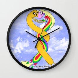 Lady and Jake Wall Clock