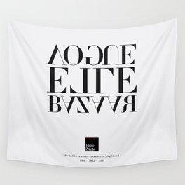Legibility ain't communication (Piece 06/08) Wall Tapestry