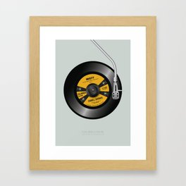 Play Misty For Me - Alternative Movie Poster Framed Art Print