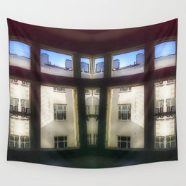 Apartment blues Wall Tapestry