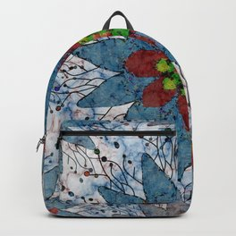 Marble Quilt Backpack