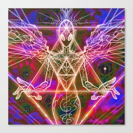 Drawing Energy Canvas Print