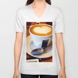 Coffee Love Unisex V-Neck
