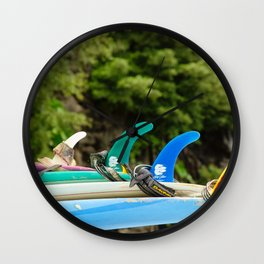 dawn patrol island time Wall Clock