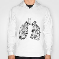 lungs Hoodies featuring LUNGS by AA / Anaïs Dedit