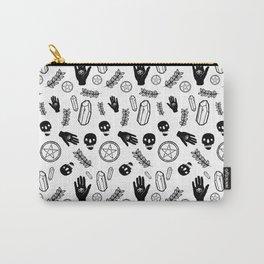 Skull Pattern - Whiteskull Carry-All Pouch