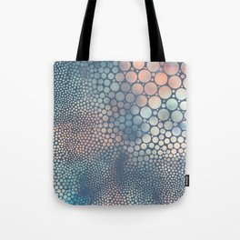 Dream Circles Charcoal Tote Bag