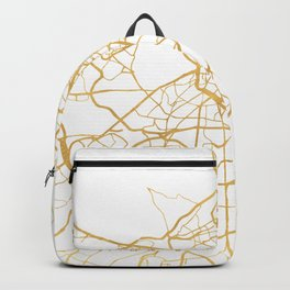 MADRID SPAIN CITY STREET MAP ART Backpack