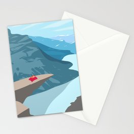 Trolltunga, Norway Stationery Cards