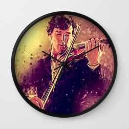 The Violin Wall Clock