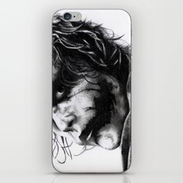 The joker - Heath Ledger iPhone Skin