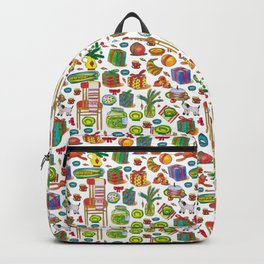 NEY YEAR PATTERN Backpack