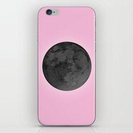 BLACK MOON + PINK SKY iPhone Skin