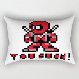 dead pixel pool Rectangular Pillow