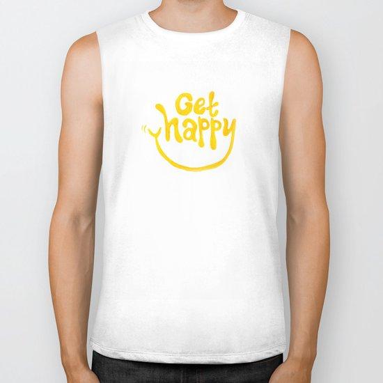 Get Happy! Biker Tank