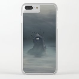 Hunted Clear iPhone Case
