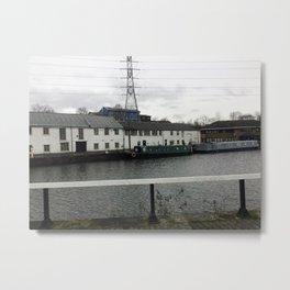 River village Metal Print