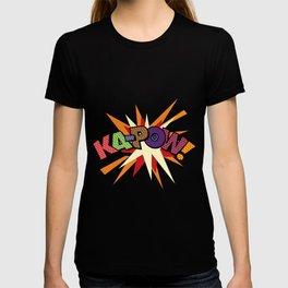 Comic Book Pop Art Sans KA-POW T-shirt